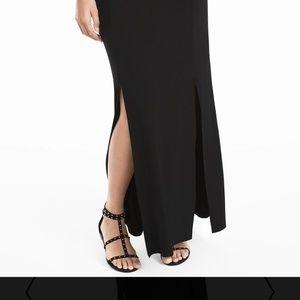 Whbm long skirt